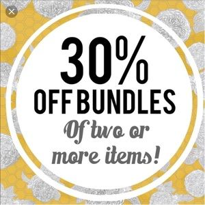 30% off Bundles!!!